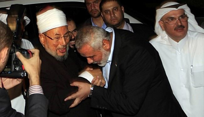 Palestinian passport given to Qaradawi as honor