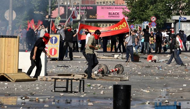 79 people injured in Turkey protest, 900 arrested