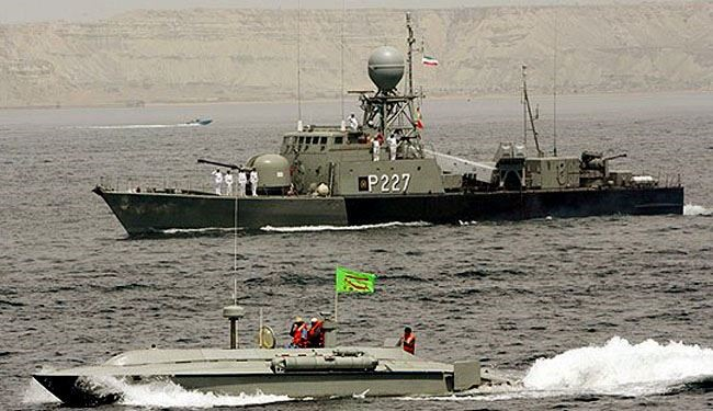 Iran's Larak warship sent to international waters