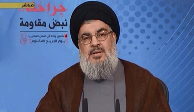 Nasrallah: A new world war goes on in Syria
