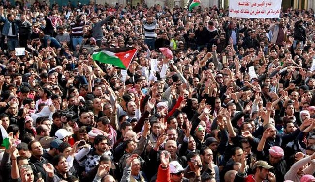 Thousands rally for reform in Jordan capital