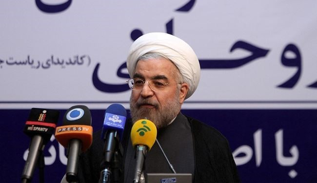 Rohani vows confidence-building in foreign affairs