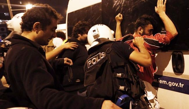 Turkish police nab dozen more protesters