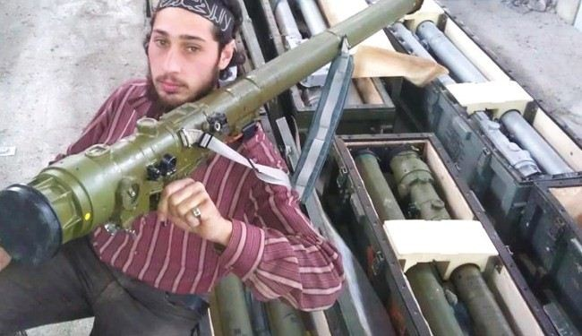 Syria terrorists get heavy arms from Saudi Arabia