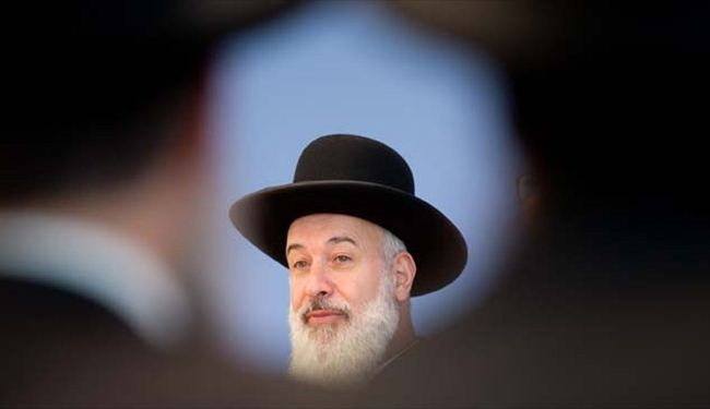 Israeli chief rabbi probed for 'bribery, robbery'