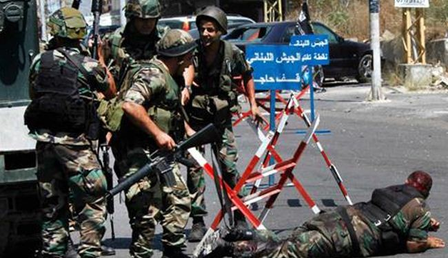 Extremists seek plunging Lebanon into violence: army