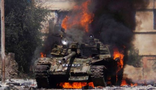 US-trained militants attack Syrian army in Daraa