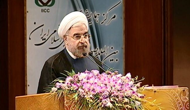 Rohani urges moderation in all areas