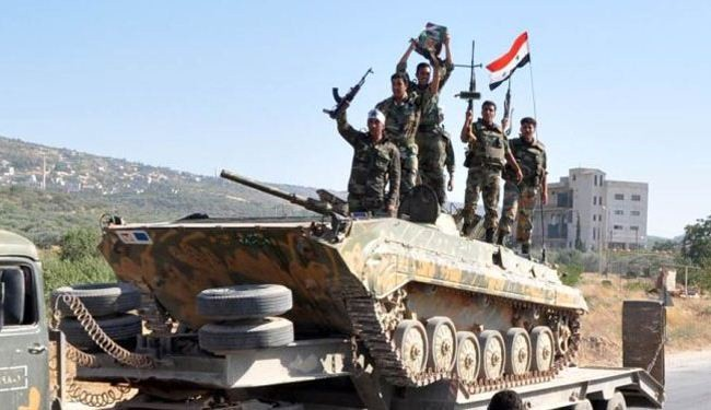 Around 100 militants killed by Syrian army