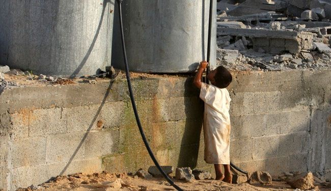 Water is running out in Gaza under Israel siege