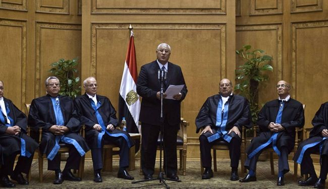 Muslim Brotherhood is part of Egypt: Mansour