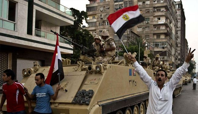MB leader: Morsi's ouster was a military coup