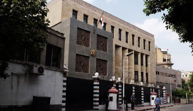 Syria embassy re-opens in Cairo