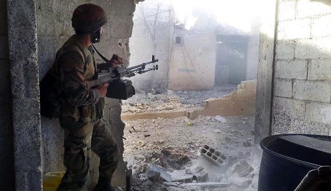Syrian army takes Qaboun under control