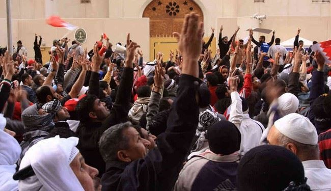 Bahraini protesters urge freedom of activists