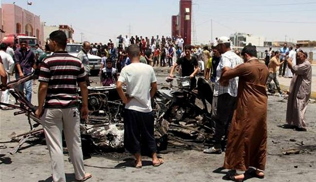 3 killed in Iraqi capital bomb attack