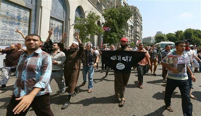 Pro-Morsi Egyptians hold mass rally in Cairo