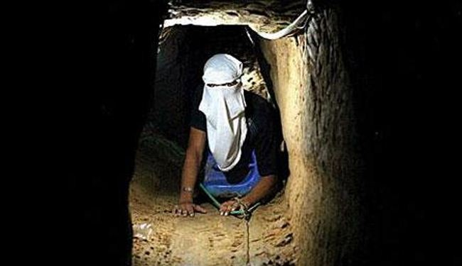Egypt destroyed 36 smuggling tunnels near Gaza