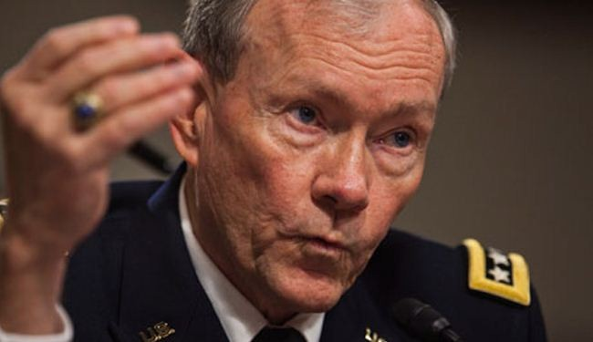 "US considers ""kinetic strikes"" on Syria: Dempsey"