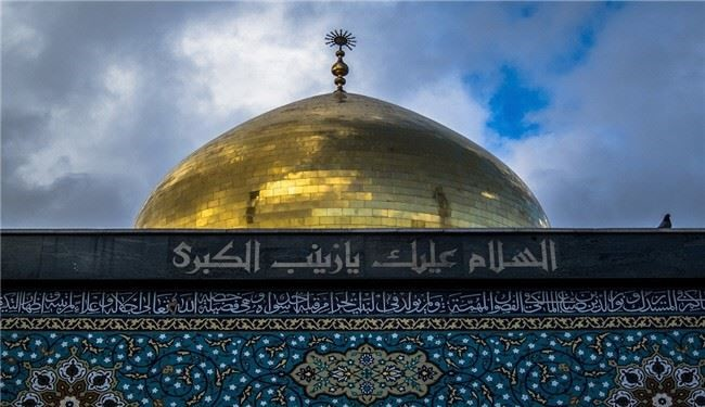 Mortar shells hit Hazrat Zaynab holy shrine