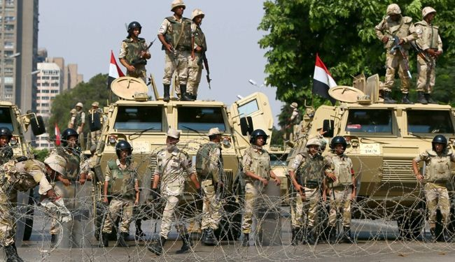 UK halts export of arms components to Egypt
