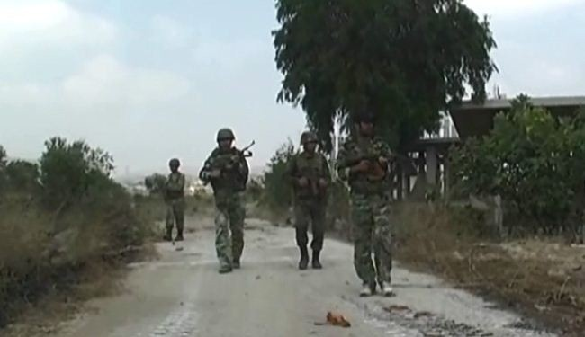 Syrian army clears rebels from al-Jubailiya village