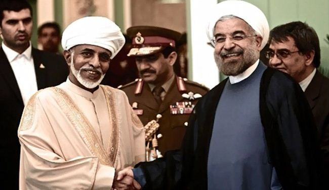 President Rouhani officially welcomes Oman's Sultan