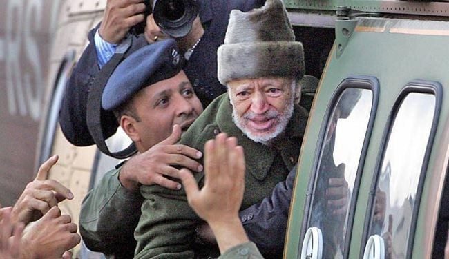 Arafat poisoned to death: Lancet medical journal