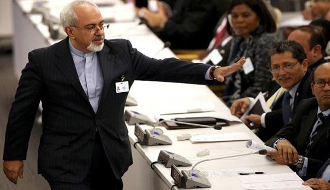Zarif slams Israeli bid to hinder Iran nuclear talks