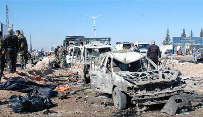 Suicide bomber kills 31 in Syria's Hama: group