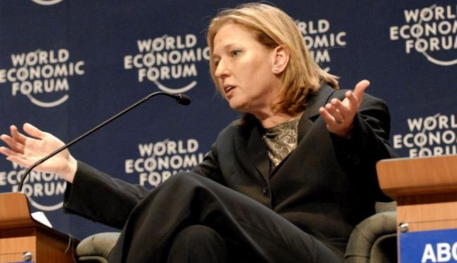 Livni: It's like Saudis speak our language in Arabic over Iran