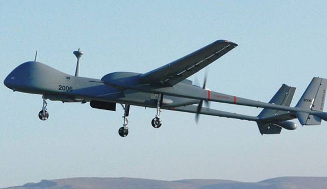 Israeli drone fires missile at Gaza Strip
