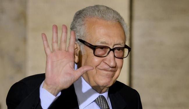 UN-Arab League envoy Brahimi arrives in Damascus