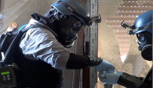 Inspectors find 1,300 tons of chemical weapons in Syria
