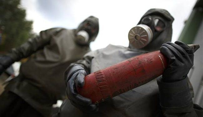 Lebanon rejects dumping Syrian chemical arms
