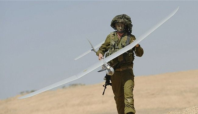 Israeli drone crashes in besieged Gaza