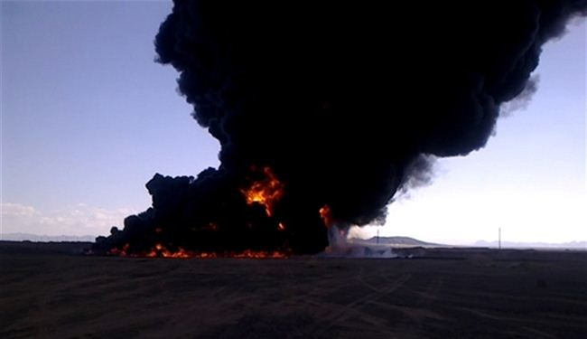 Al-Qaeda militants blow up oil pipeline in Yemen