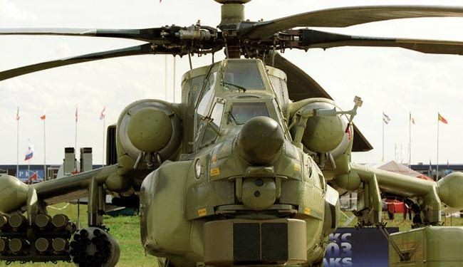 Iraq to receive 40 Russian combat helicopters soon