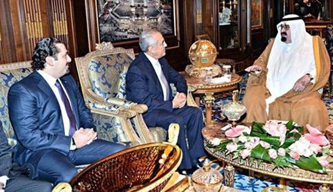 What King Abdullah told Lebanon president, Hariri at Riyadh palace