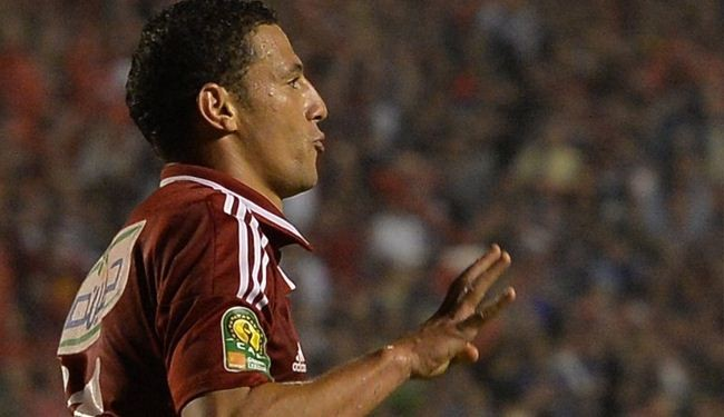 Egypt suspends football player over pro-Morsi salute