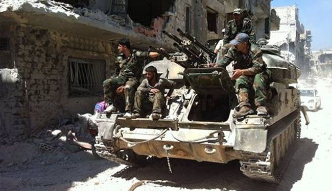 Syria army forces advance on terrorists in Aleppo