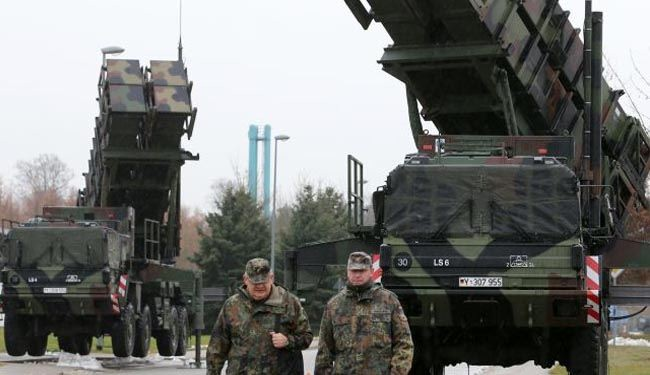 Turkey asks NATO to keep missiles near Syria