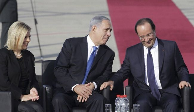 Netanyahu to Hollande: Zionism greatly influenced by France