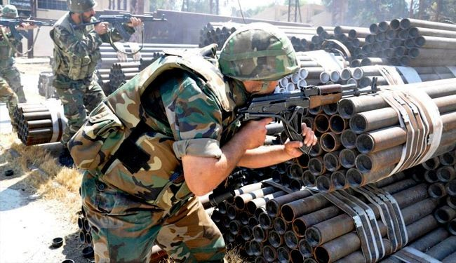 Syrian army recaptures strategic border town near Lebanon