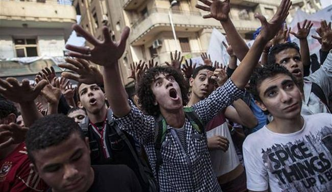 Egyptian student killed at university protest