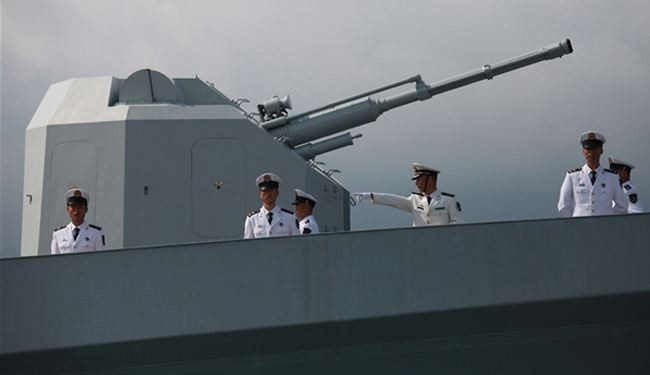 US concerned about China naval challenge in Pacific