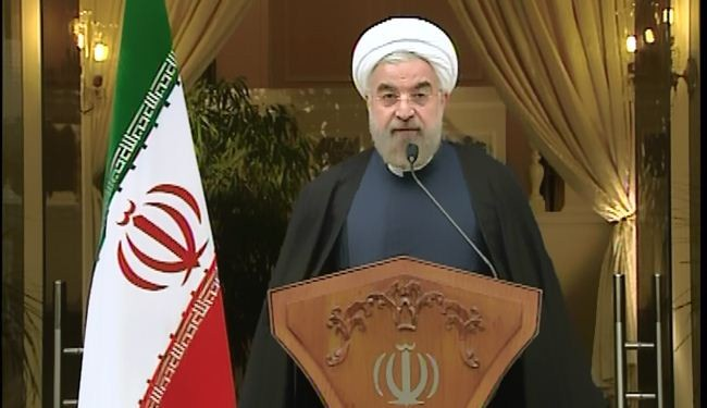 Iran president congratulates Leader on nuclear deal