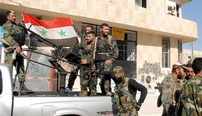 Syria army uproots terrorists in Damascus suburbs