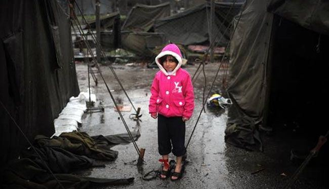 Syria child refugees are main victims of war, UN warns