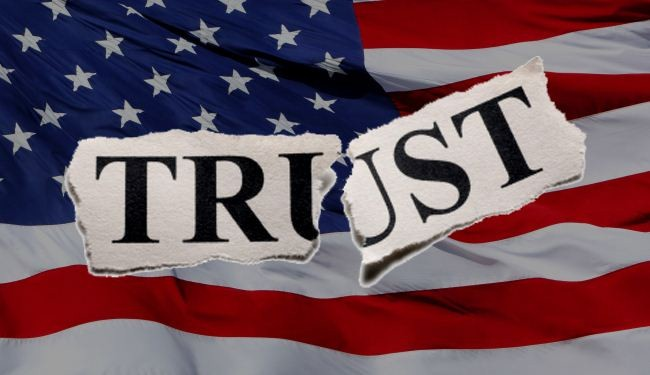 US social trust is draining: Poll